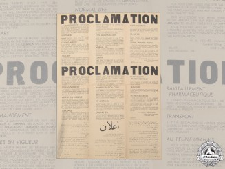 An Unissued Proclamation of Martial law by Lieutenant-General Holmes During the Lebanese Crisis (Nov. 1943)