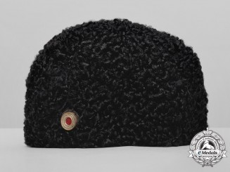 A Wehrmacht Karakul Fur Cap for Cossacks