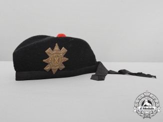 A Royal Highlanders Glengarry Bonnet by R. Mackie & Co