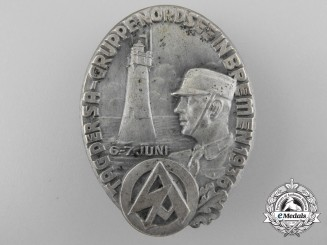 A 1936 Bremen SA Day Badge by Bruno Mulde