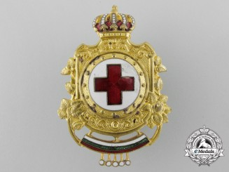 Bulgaria, Kingdom. A Red Cross Badge