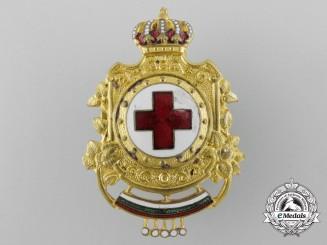 Bulgaria, Kingdom. A Red Cross Badge
