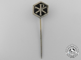 A Second War Period German Christian Stickpin