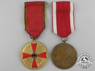 Two German Federal Republic Awards
