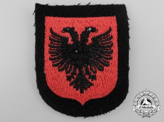 An Albanian SS Volunteer Sleeve Shield