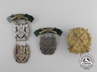 Four Second War Period German Shooting Awards
