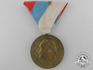 Montenegro, Kingdom. A King Nicholas I Fiftieth Jubilee Medal