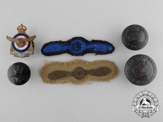 Six Australian Insiginia and Badges