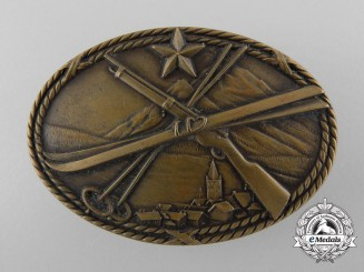 A French 1940 SES 2nd Infantry Battalion Skier-Scout Badge