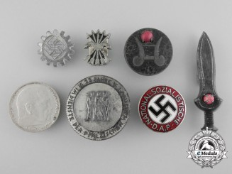 A Selection of Seven German Badges & Tokens