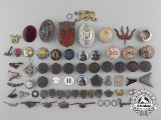 Medal Components Recovered from the Destroyed Zimmermann Factory