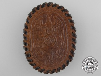 Germany, NSAP. A 1935 Hessen-Nassau Darmstadt District Day Badge