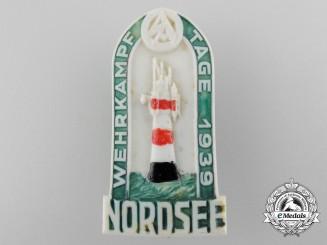 A 1939 SA Wehrkampf Tage Competition Badge by Steinhauer & Lück, Lüdenscheid