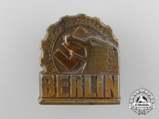 Germany. A 1938 International Radio Exhibition Badge in Berlin Badge