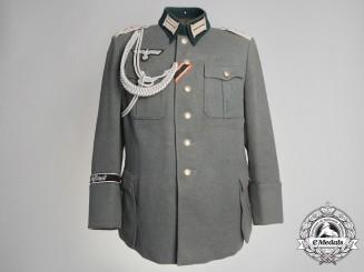 A Wehrmacht Panzer Grenadier Division Tricot Gabardine Tunic; Großdeutschland