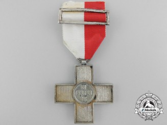 Portugal, Kingdom. An Order of the Red Cross, Silver Cross, Silver Grade, c.1900
