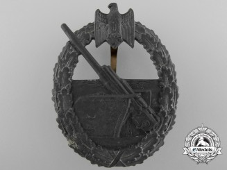 A Kriegsmarine Coastal Artillery Badge by Foerster & Barth