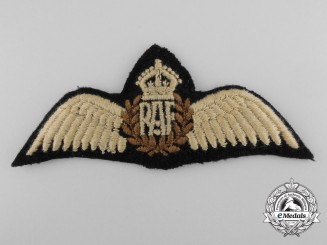 A Set of Royal Air Force (RAF) Pilot's Wing