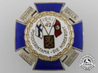 A Finnish Northern Front Cross 1941-1942 by Hopeatakomo