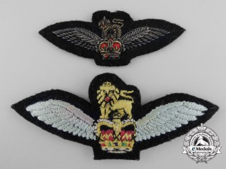 United Kingdom. A QEII Royal Air Force (RAF) Glider Regiment Pilots Wings Badges