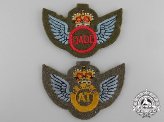 Two British Trade/Qualification Badges