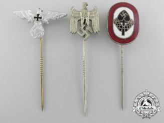 A Lot off Three German Second War Stickpins