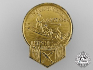 Germany, Third Reich. A Leipzig Water Jousting Badge, 1934