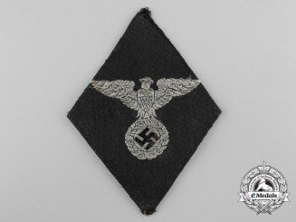 An Early Political Leader Sleeve Diamond Insignia