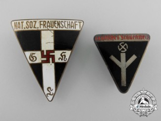 Two Women's League Membership Badges