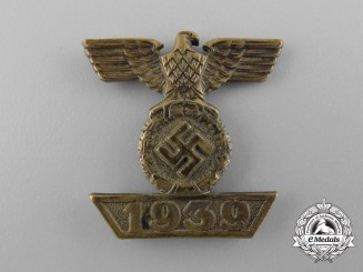 A Clasp to Iron Cross 2nd Class; Reduced Version