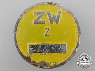 A Rare Messerschmitt Factory ID Badge