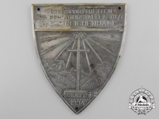 A Plaque Motorsports Meeting of the SS-Motorstaffel III