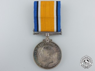 A First War British War Medal to the No. 2 Canadian Stationary Hospital