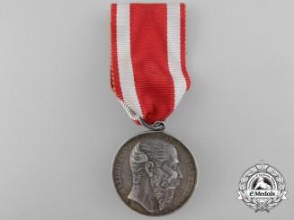 A Rare Emperor Maximilian Mexican Military Merit Medal