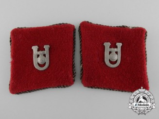 Croatia, Independent State. A Set of Ustaša Officer Collar Tabs