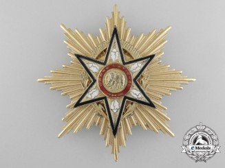 Upper Volta. A National Order, Chain Grade Star, c.1970