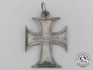 An Unusual Napoleonic Period German Cross in Silver