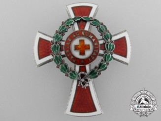 An Imperial Austrian Red Cross Officer's Decoration 1864-1914 by Scheid, Wien