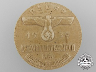 Germany, NSDAP. A 1939 Assembly Badge