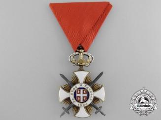 Serbia, Kingdom. An Order of Kara-George with Swords, Fourth Class, c.1915