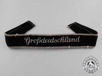 An NCO-E/M Großdeutschland Cufftitle; 4th Pattern