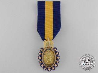 An 1883 Sons of the Revolution Medal in Gold by Bailey, Banks, and Biddle