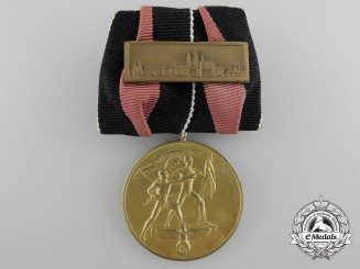 An October 1938 Commemorative Medal with Prague Clasp
