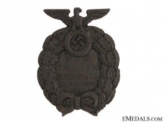 Badge of SA-Meeting Brunswick 1931