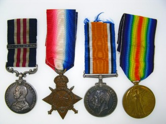 Great War M.M. and Bar Group of Four Awarded to