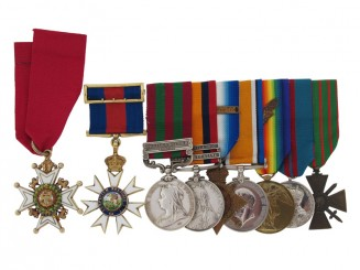 The Awards of Major-General Stuart Macdonald