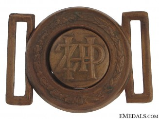 Banovina of Croatia - Railway Buckle