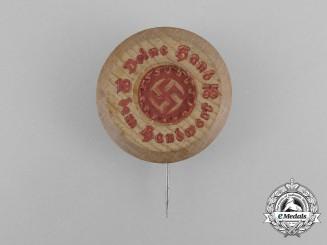 A 1935 DAF (German Labour Front) Labour Appreciation Badge