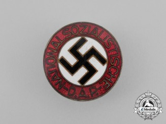 A NSDAP Party Member's Lapel Badge by Ferdinand Wagner of Pforzheim