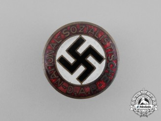 A NSDAP Party Member's Lapel Badge by Otto Schickle of Pforzheim
